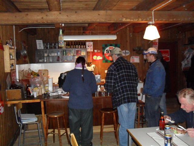 Beställningar i baren