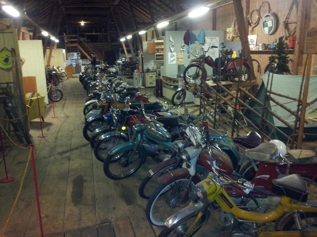 60st mopeder på mopedens 60-årsdag